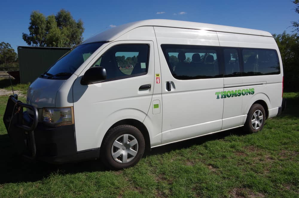 Thomsons Coachlines 13 Seater 11