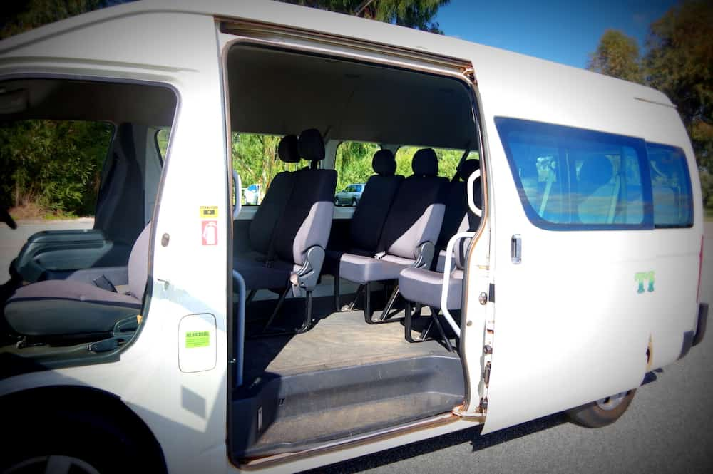 Thomsons Coachlines 13 Seater 12